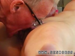 Old Man Blonde Girl And Red Head Makes Herself Cream Snapchat Minnie