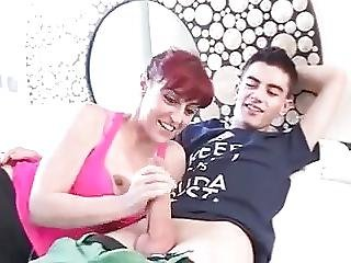 Mommy Fun With Her Toyboy