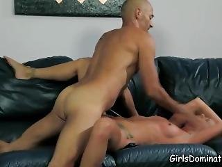 Horny Blonde Slave Begging For Pleasure