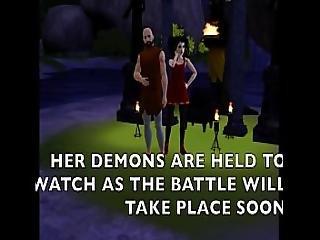 S3d Ep.12 Demon Goddess Fucked