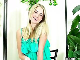 Thisgirlsucks Smalltits Blonde Teen Casi James Hawaiian Blowjob Handjob