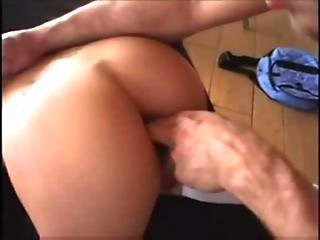 Stupid Teenie Is Anal Drilled And Facialized