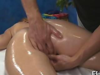 Hot Nice Babe Fucked With Lots Of Oil