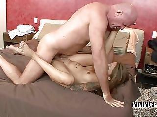Blowjob, Brunette, Coed, Dick, Hardcore, Petite, Pussy, Teen, Tiny, Tiny Pussy