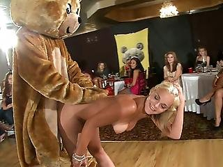 Blonde, Blowjob, Cfnm, Dick, Dress, Giving Head, Horny, Hungry, Party, Public, Reality, Stripping, Sucking, Teasing, Wet, White, Young