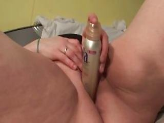 Horny Slutty Mature Pleasing Herself With A Sex Toy