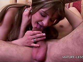 Teen And Mature Sharing Cock