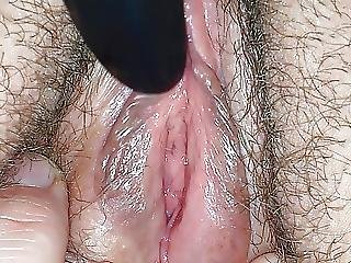 Pulsating Cumming Pussy Close Up