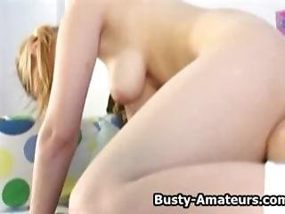 Busty Amateur Catrina And Agnes On Hot Lesbian Foreplay