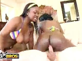 Bangbros - Double Fudge Dessert On Brown Bunnies With Jada Fire And Aryana