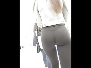Candid Teens In Yoga Pants Compilation #7