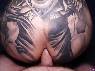 Big Thick Ass Big Tit Tattooed Onlyfans Milf Close Up Hard Anal Fucking Creampie - Melody Radford