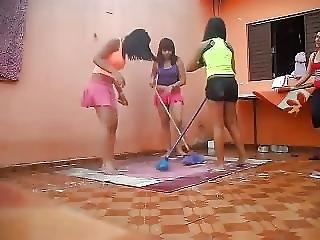 Amateur, Brasileños, Adolescente, Voyeur