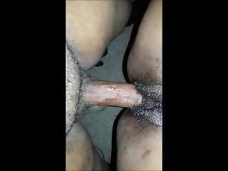 Amateur Ebony Couple Closeup Pussy Sex