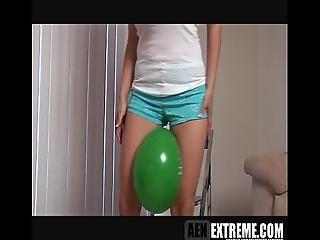 balon, cycek, ekstremalny, fetysz, bez nagości, nago, softcore, Nastolatki, młoda