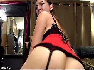 Your Hot Mom Rides Your Cock Doggystle - Hot Milf Mommy Kristi