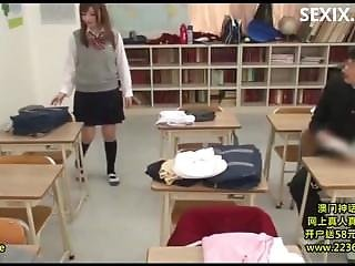 Sexix.net - 6125-avop 112 Once Enrolled In Bimbo Girls School Became Co Ed From This Year In Rainy Day Man Slut