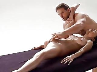 Loving Couple With Sensual Massage