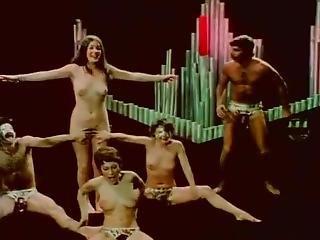 Vintage Orgy With Jeffrey Hurst, Georgina Spelvin, Andrea True, Harry Reems