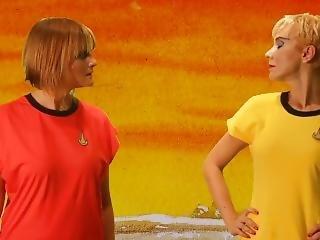 Comedy Star Trek Parody Bondage