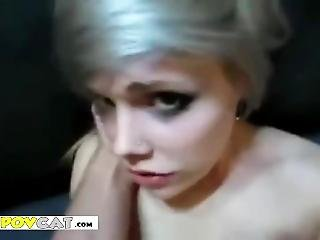 Emo Girl With Braces And Gauges Pov
