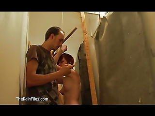 любитель, БДСМ, рабство, милый, доминирование, гараж, наказать, рыжеволосый, трепка, покорный, подросток