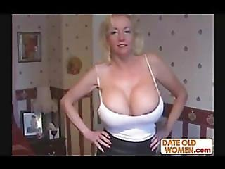 Sexy Mature With Huge Tits