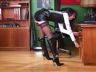 Secretary In Leather