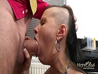 Tattooed German Amateur Fucked By Big Dick