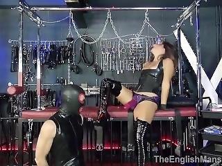 Theenglishmansion - Mistress Roxy Jezel Pegged Without Mercy