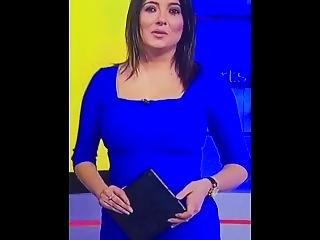 Natalie Sawyer - Hot Sky Sports Presenter In Super Sexy Tight Outfit