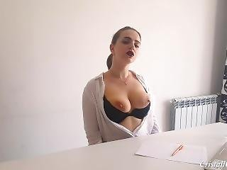 Secretary Suck Cock Boss And Cum Doggystyle - Cristall Gloss
