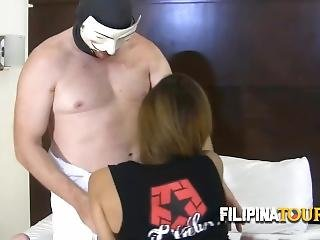 Horny Tourist Hires Asian Hooker To Please Him In Every Way Possible