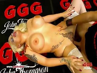 Candela X Curvy Tattooed And Cum Covered German Goo Girls