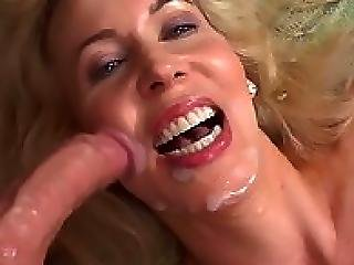 Sonya Amazing Sexy Blonde Mom Cum Covered