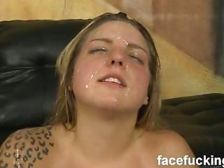 Facial Humiliation - Cum & Spit