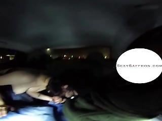 360 Vr Backseat Blowjob!