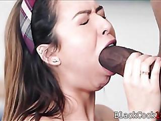 Slutty Schoolgirl Gets Her Pussy By Her Black Teacher