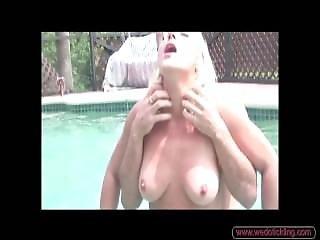 Veronika - Pool Tickling