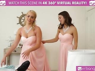Vr Bangers- Mia Malkova And Riley Reid Fucked By The Groom