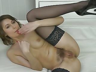 Young Cute Milf With Hairy Thirsty Pussy