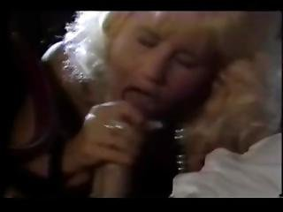 Retro Blonde Blowjob In Car