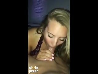 Sexy College Amateur Blowjob