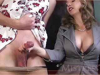 Mistress T Milk Her Slaves