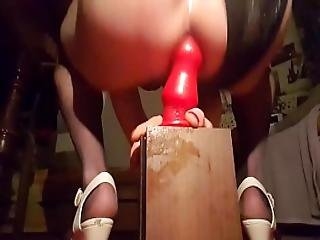 Sissy Training Her Pussy Asshole To Next Level