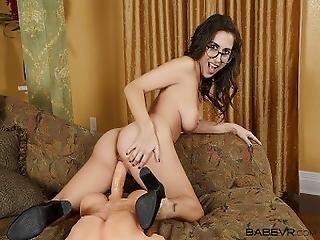 Babevr.com Masturbation Video Call By Spex Babe April O%27neil