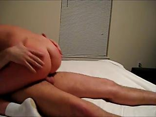 Redhead Wife Sucks And Rides Cock