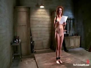 Audrey Hollander Slave Training