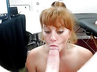 Tamara - Edging Blowjob Deepthroating With Facial Swallo