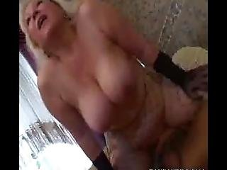 Cum Facial For This Chunky Mature